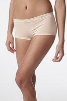 Boody Organic Bamboo Eco Wear Women's Underwear Boyleg Brief Beige