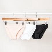 Boody Organic Bamboo Eco Wear Women's Underwear Classic Bikini Black
