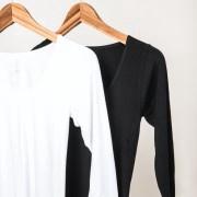 Boody Organic Bamboo Eco Wear Scoop Top Women's Black