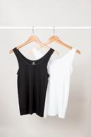 Boody Organic Bamboo Eco Wear Tank Top Women's White
