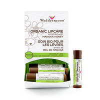 Wedderspoon Organic Lip Care Enriched with Manuka Honey - Coconut Lime 4.5g