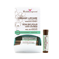 Wedderspoon Organic Lip Care Enriched with Manuka Honey - Peppermint 4.5g