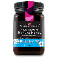 Wedderspoon Manuka Honey KFactor12 100% Raw 500g