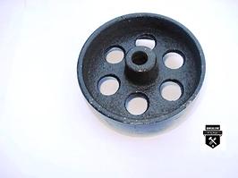 """Petite roue de fonte 3 1/2""""  r2   (469)"""