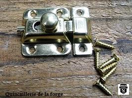 Petit loquet plaqué laiton   am96303 (200)
