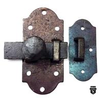 Loquet de surface fer forgé a79v (850)