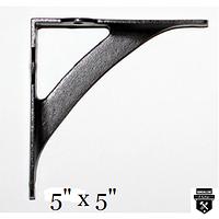 Petite équerre décorative style industriel rustique a98pv (585)