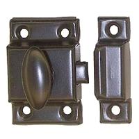 loquet de cabinet rustique   B88617M (299)
