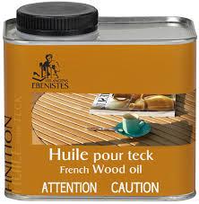 Huile pour teck et bois exotique 500 ml       70103  (1496)