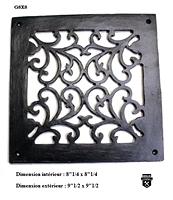 Grille de plancher ancienne g8x8  (2100)