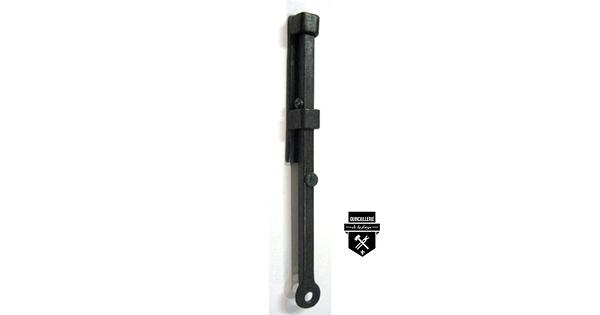Targette de fer forg 8 quincaillerie de la forge for Fer forge meuble
