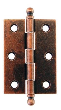 Charnière à gond amovible vieux cuivre b11823acm