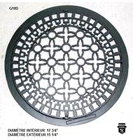 """Grille de plancher ronde 18"""" g18d      (7800)"""