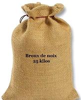 Broux de noix 25 kilos 555-25k