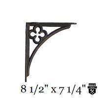 Équerre décorative trèfle    a98tm  (1000)