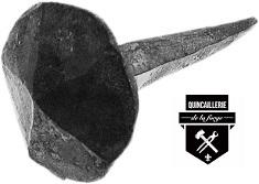 Clous a tête martelé a21v (75)