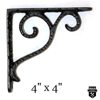 Équerre décorative fer forgé  a99v  (359)