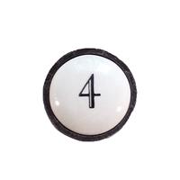 bouton fonte et céramique b5815m4
