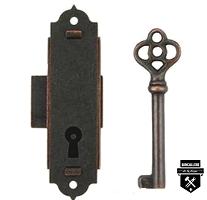 serrure pour horloge/armoire à fusils L5