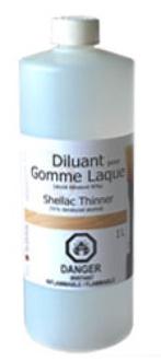 Diluant pour Gomme Laque / Alcool Dénaturé 95%       4547-1