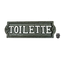 Plaque toilette  a38v   (389)