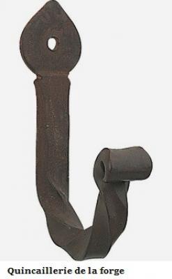 Crochet haute forge noir satin 4417-020