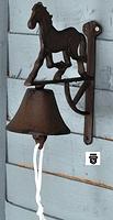 Cloche de fonte Ux1887D (1625)
