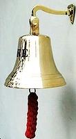 Cloche de pompier en laiton ub114ad  (5200)