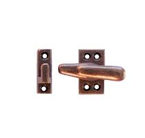Loquet en fonte cuivre antique  B8711ACB  (650)