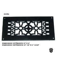 """Grille de plancher (12""""x4"""")   g12x4   (2100)"""