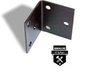 Support de renforcement pour les poutre (fer angle)  robuste en fer forgé  33318   (576)
