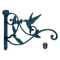 Crochet a plante oiseau sarcelle  s4160 (750)