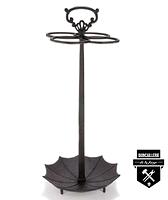 Porte parapluie en fonte brun   s4147 (4000)