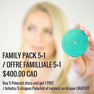 Family Pack 5+1