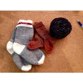 Cours de tricot - Chaussettes