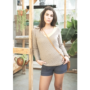 Pull Pavot en tricot