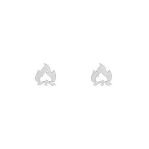 Boucles d'oreilles feu de camp