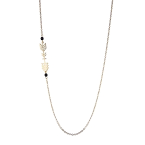 Collier long flèche