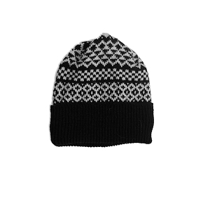 Tuque Doublée - Motif cocooning