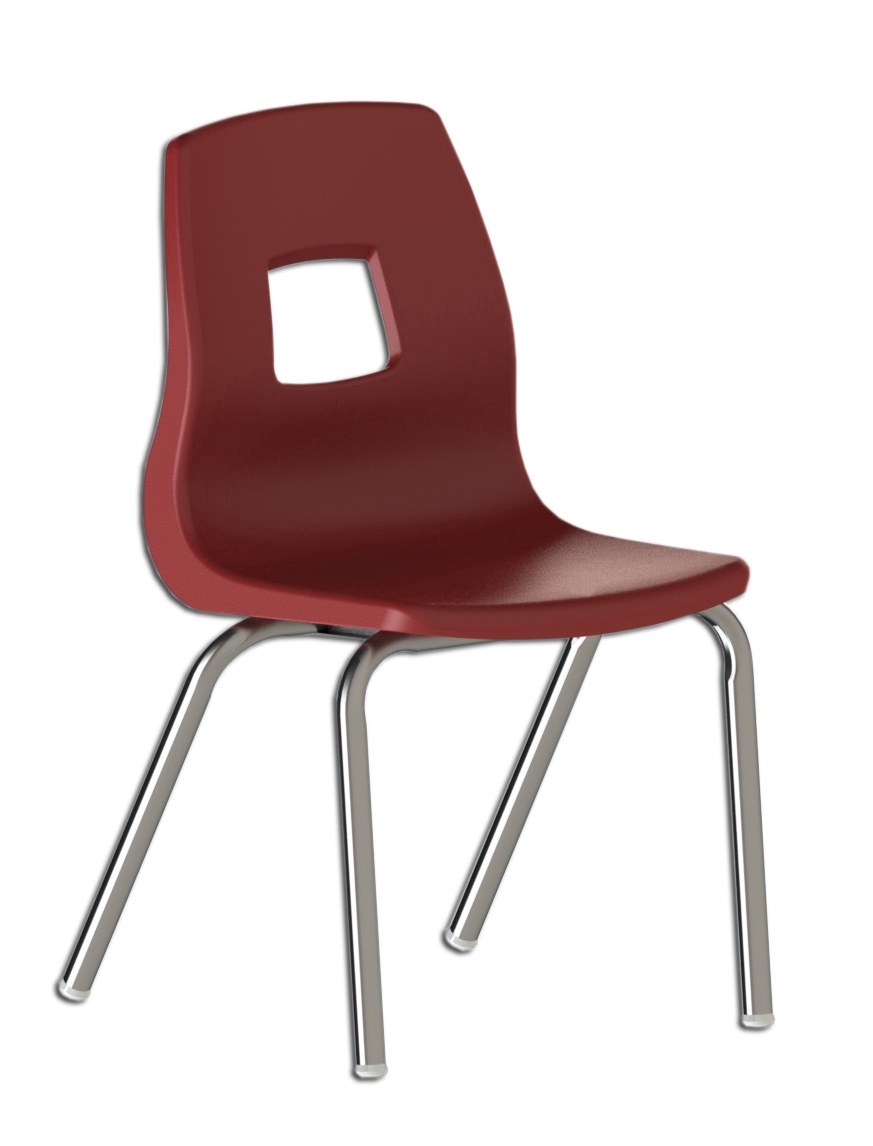 Chaise scolaire ergonomique et empilable for Chaise ergonomique