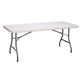 Table de plastique 72x30