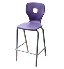 Tabouret empilable Silhouette