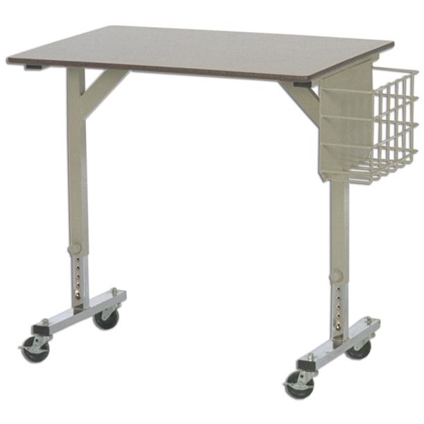 Pupitre pour personne en fauteuil roulant alpha vico - Table pour fauteuil roulant ...