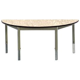 Table semi circulaire