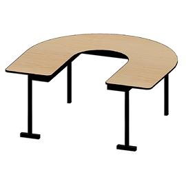 Table FER À CHEVAL