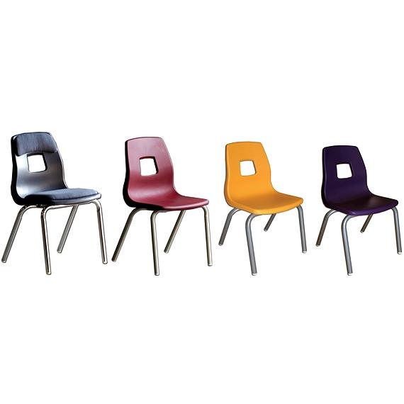Chaise scolaire ergonomique et empilable for Chaise ergonomique
