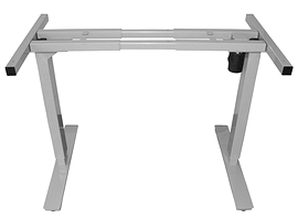 Table rectangle ajustable pneumatic