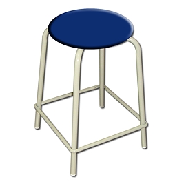 Tabouret empilable 26
