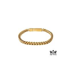 Bracelet lien a la franco or