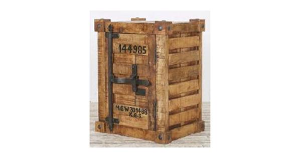 Table D 39 Appoint En Bois De Manguier Style 39 39 Container 39 39